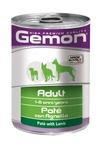 MONGE Gemon Dog консервы для собак паштет ягненок 400 г