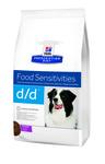 HILL'S Диета для собак D/D Утка/Рис лечение пищевых аллергий сух.