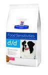 HILL'S Диета для собак D/D Лосось/Рис лечение пищевых аллергий сух.