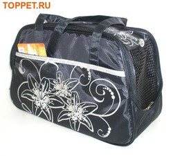 DOGMAN Сумка -переноска для собак №7 черная размер 40х19х25см