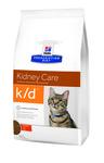 HILL'S Диета для кошек K/D лечение заболеваний почек, профилактика МКБ оксалаты, ураты, сух.