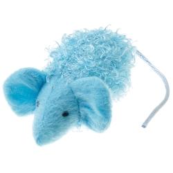 V.I.Pet Игрушка для кошек Мышка с мятой, 10см