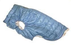 LifeDog Попона для средних и больших пород собак, размер 4XL, голубая/клетка, спина 55см