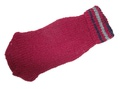 Fluk Свитер вязаный для собак, бордо, спина 25-31см, грудь 25-36см