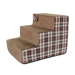 """LuxDog Лестница для собак коричневая """"Шотландия"""", 3 размера"""