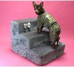 "LuxDog Лестница для собак, цвет серый, ""Маренго"" (4 размера)"