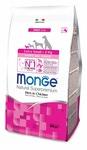 MONGE Dog Extra Small корм для щенков миниатюрных пород с курицей 800 г