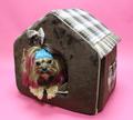 LuxDog Домик для собак Браун, 40х50х40см, шоколад.