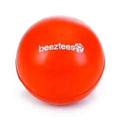 """Beeztees Игрушка для собак """"Мяч"""", литая резина, оранжевый"""