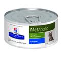 HILL'S Диета консервы для кошек Metabolic для коррекции веса 156г х 12шт
