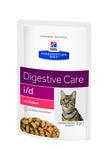 HILL'S Диета пауч для кошек I/D лечение заболеваний ЖКТ Лосось 85г х 12 шт