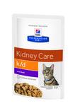 HILL'S Диета пауч для кошек K/D лечение заболеваний почек Говядина 85г х 12шт
