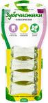 Зубочистики Косточки жевательные малые Классические 4 шт в уп