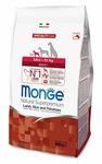 MONGE Dog Speciality Mini корм для взрослых собак мелких пород ягненок с рисом и картофелем, сух.