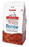 MONGE Dog Speciality Mini корм для щенков мелких пород ягненок с рисом, сух.