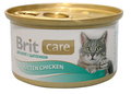Brit Care Консервы для котят Цыпленок 80г