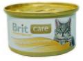 Brit Care Консервы для кошек Куриная грудка и сыр 80г