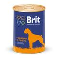 Brit Care Консервы для собак Говядина и Печень 850г