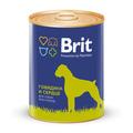 Brit Care Консервы для собак Говядина и Сердце 850г
