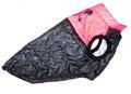 LifeDog Попона для средних пород собак, размер 3XL, спина 48см, черно/розовая