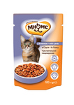 МНЯМС Паучи для взрослых кошек с ягненком 100 г в соусе, чувствительное пищеварение