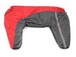 ZooPrestige Комбинезон утепленный хаки/бежевый, размер 8XL, спина 75см