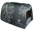 DOGMAN Сумка -переноска для собак Лира №4, черная, размер 48х30х30см