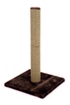 Beeztees Когтеточка-столбик коричневая 35*35*60см