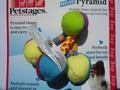 Petstages Игрушка для собак мини пирамида с бубенчиками