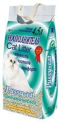 Pussy-cat Наполнитель для кошачьего туалета 4,5л океанический 3шт.