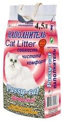 Pussy-cat Наполнитель для кошачьего туалета 4,5л древесный 3шт.