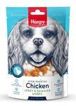 Wanpy Dog кости из сыромятной кожи с куриным мясом 100 г