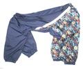 ZooPrestige Дождевик для крупных пород собак, синий/мозаика, размер 5XL, спина 60см.
