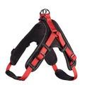 Hunter Шлейка для собак Neopren Vario Quick L (67-80)/2,5 см нейлон/неопрен красный/черный