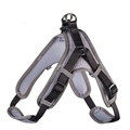 Hunter Шлейка для собак Neopren Vario Quick XL (79-100)/2,5 см нейлон/неопрен черный/серый