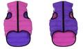 AiryVest Жилетка двусторонняя для собак, розово-фиолетовая, размер XS, S, M