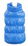 Куртка для собак на теплой подкладке из меха, цвет голубой, размер XL