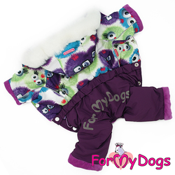 ForMyDogs Теплый комбинезон для маленьких собак