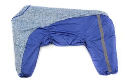 ZooPrestige Комбинезон утепленный черный/хаки, размер 8XL, спина 75см