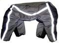 ZooPrestige Комбинезон утепленный для крупных собак, серо/черный, размер 7XL, спина 65см