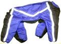 ZooPrestige Комбинезон утепленный для крупных собак, синий/черный, размер 7XL, спина 65см