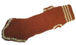 Fluk Свитер вязаный для собак, терракотовый, 40см