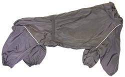 LifeDog Дождевик для больших пород собак, сиреневый, размер 7XL, спина 75-83см.