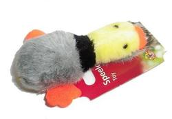 I.P.T.S. Игрушка для собак и кошек мягкая Утка, 8см