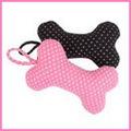 Pinkaholic Игрушка для собак мягкая Косточка розовая, 18,5см