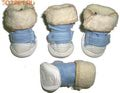 I's Pet Ботиночки для собак зимние меховые, цвет голубой, размер №1, №2