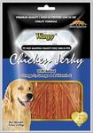 Wanpy Лакомство для собак Куриная соломка с Омега - 3, Омега - 6 и витамином - Е, 100г