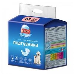 Cliny Подгузники для собак и кошек M 5-10кг 9шт