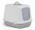 I.P.T.S. Oscar Туалет-домик для кошек серый, размер 50*37*39см