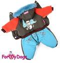 ForMyDogs Комбинезон на синтепоне и меховой подкладке, модель для мальчиков, размер 8,10